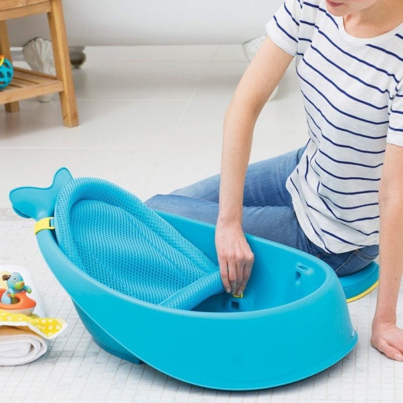 Skip Hop Moby Smart Sling 3 Stage Tub Blue
