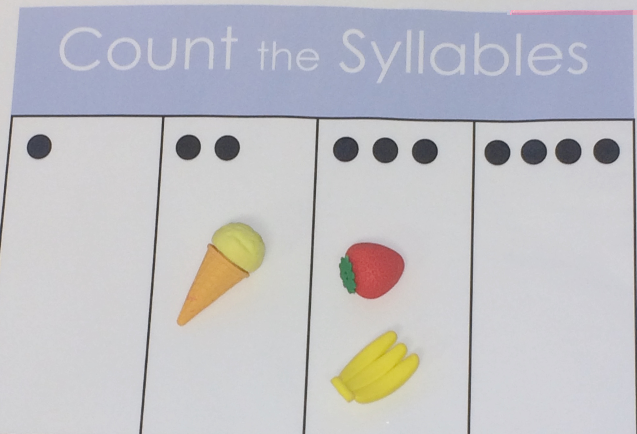 Count Syllables Template