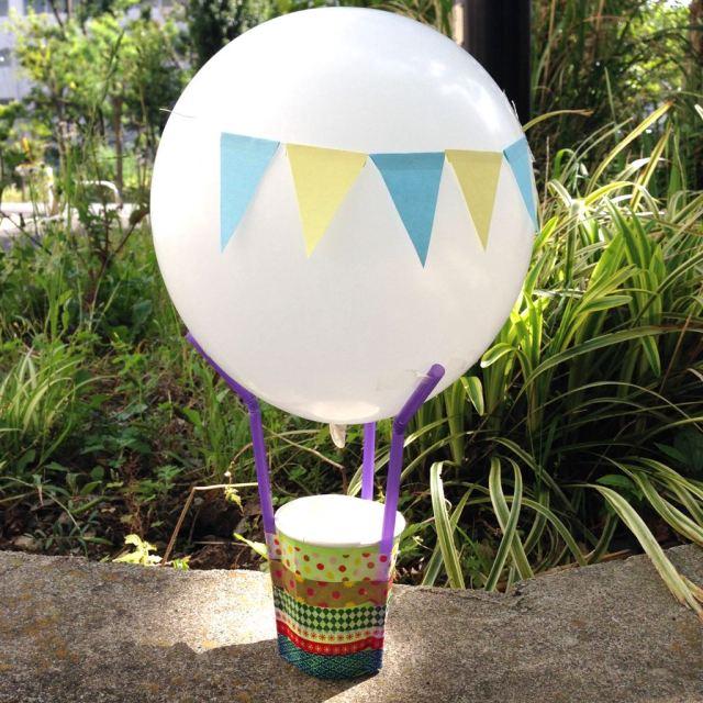 【風船の気球を作ろう!】絵と工作のワークショップ&お茶会