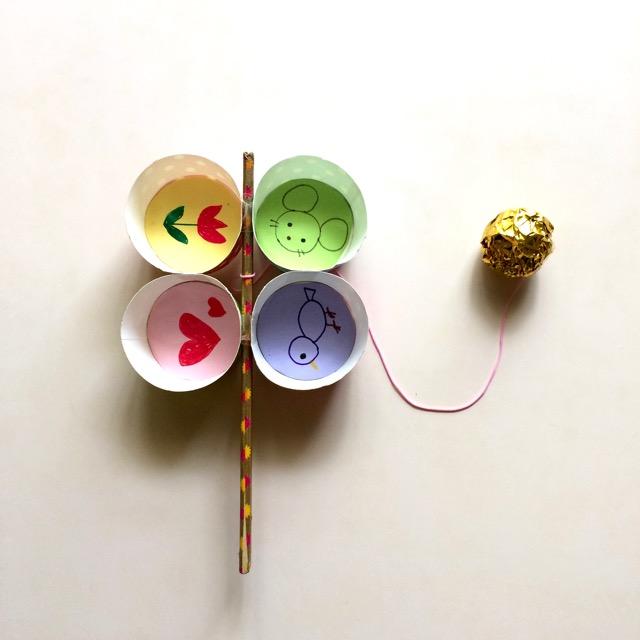 【カップけん玉を作ろう!】絵と工作のワークショップ×親子カフェ