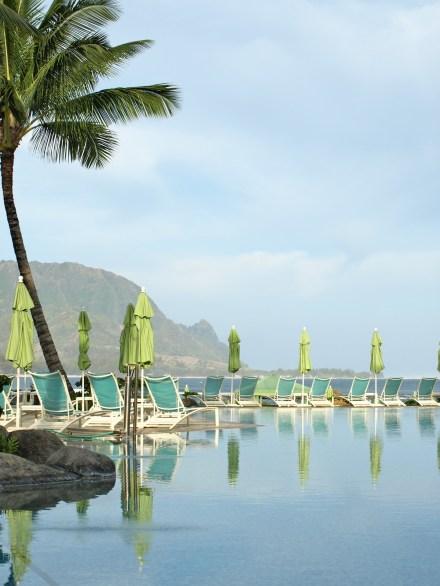 st regis kauai pool