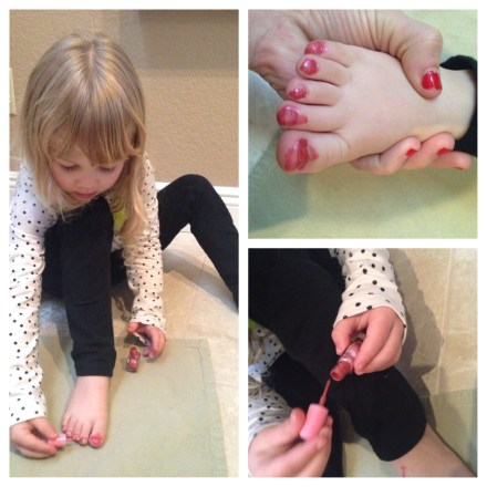nail polish and kids