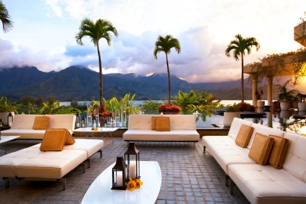 The St. Regis Princeville Resort -Bay Terrace Reception