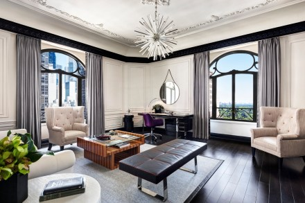 St. Regis New York-Bentley Suite Living Room