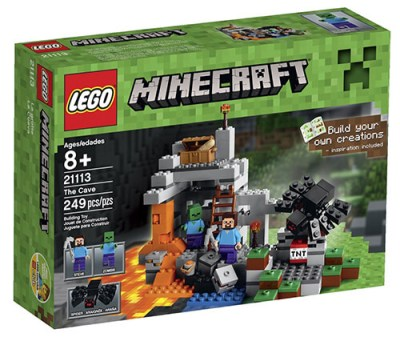 LEGO-Minecraft-The-Cave