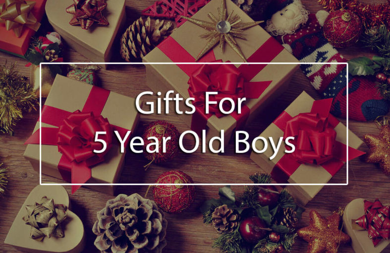 The Top 5 Best Gifts For 5 Year Old Boys (5-year-old
