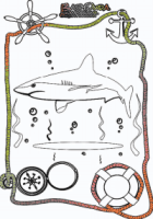 malvorlagen meerestiere - ausmalbild tiere im wasser | babyduda
