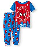 Spiderman, Spidey Baby Boy Cotton Tight Fit Pajamas, 2 pc Set Licensed (9 Mos)