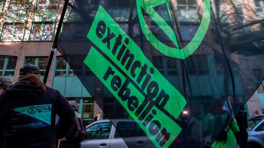 The Police Can't Stop London's Fearless Climate Protestors