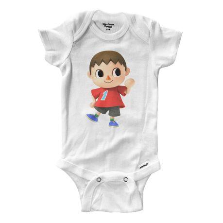 Gerber Bonus 5-Pack Unisex Short Sleeve White Onesies BABY CLOTHES SHOWER GIFT