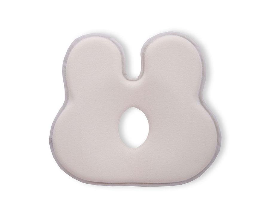 Anti tête plate lapin White