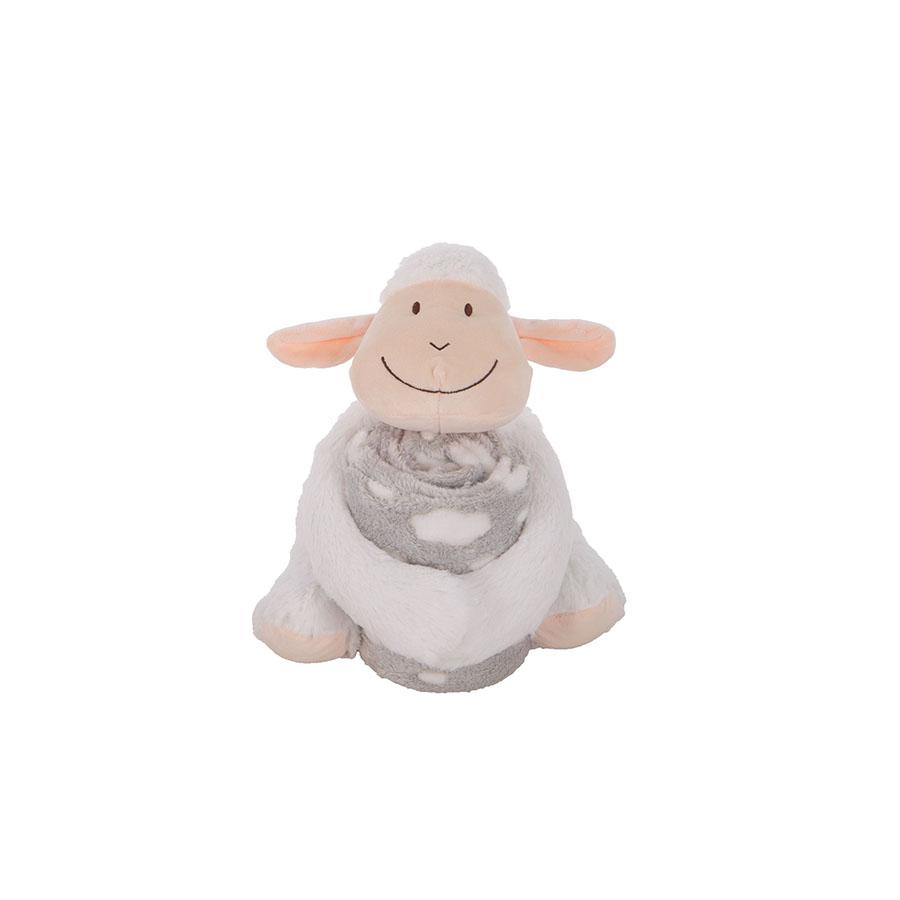 Set doudou + couverture Lamb