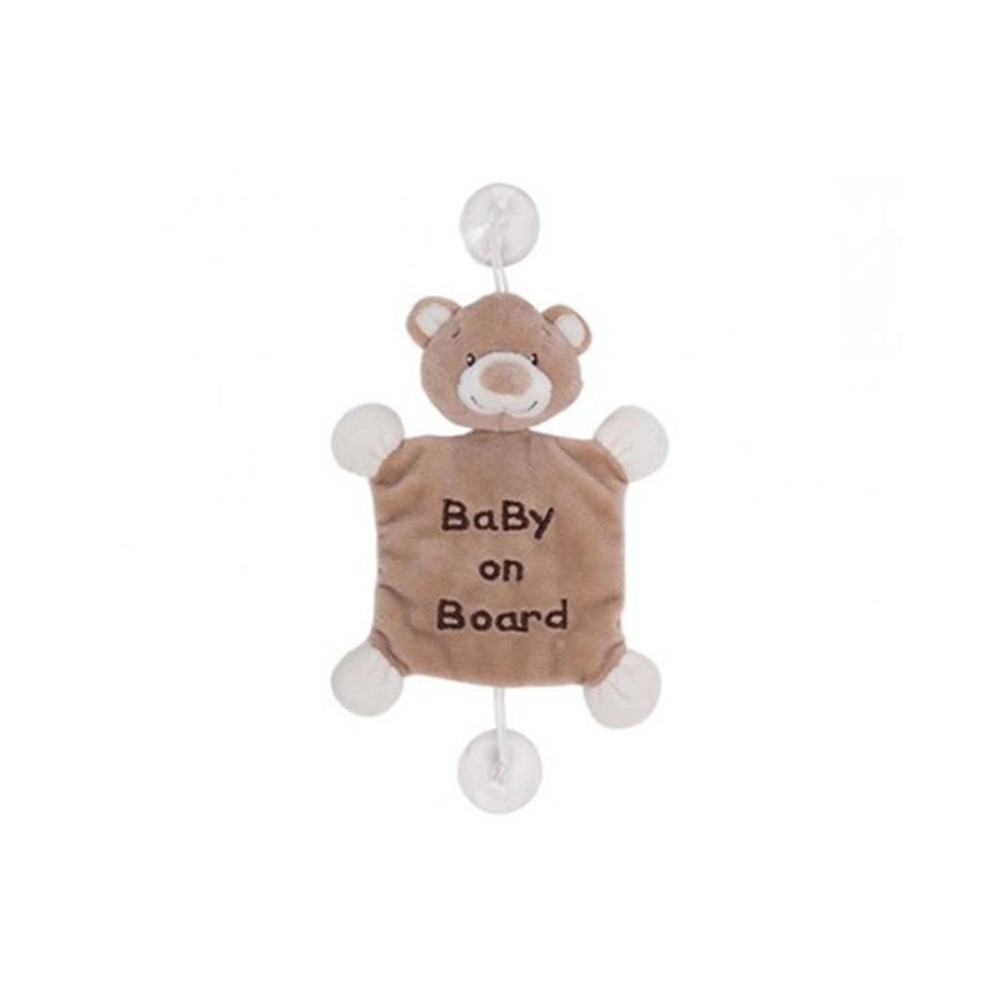 peluche Ours «Bébé à bord»