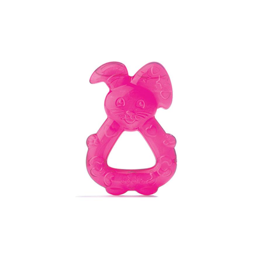 Anneau de dentition lapin réfrigéré rose