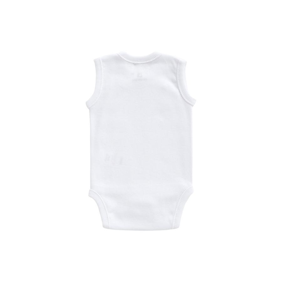 BODY SANS MANCHE CROISE Blanc Taille 1M+