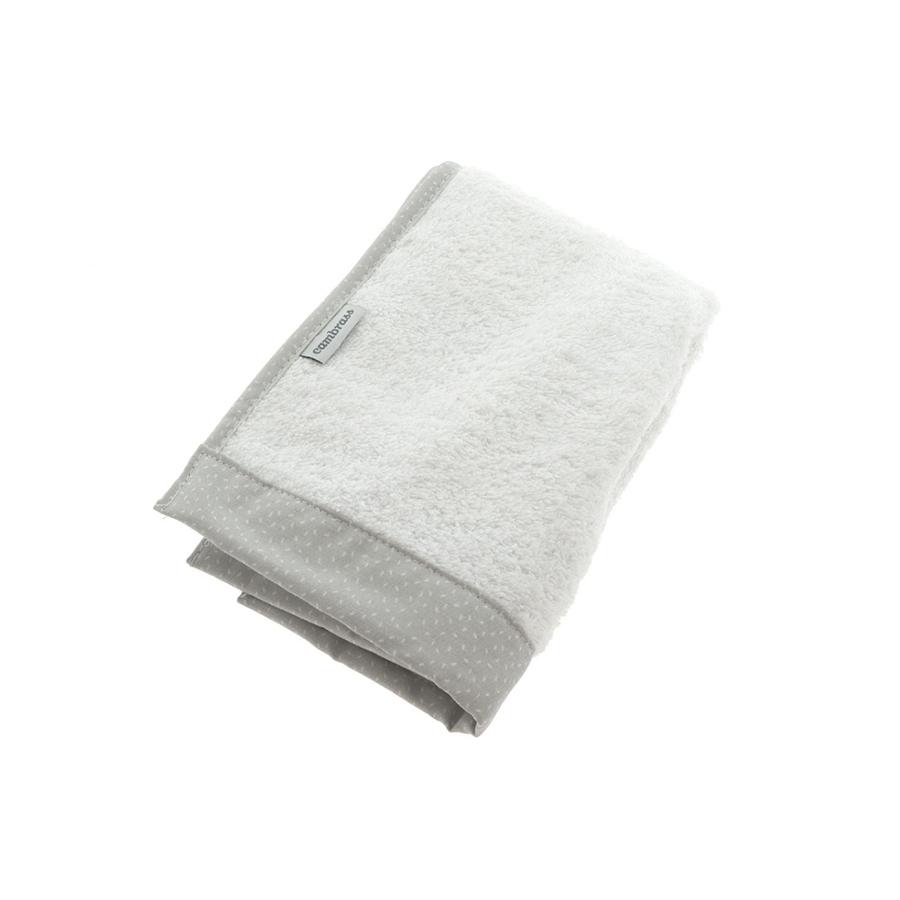 Coffret 2 serviettes de bain sky gris/pluie 25×35 cm