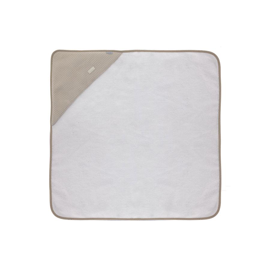 Serviette de bain a capuche 100×100 cm sky beige