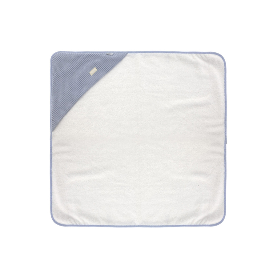 Serviette de bain a capuche 100×100 cm sky bleu