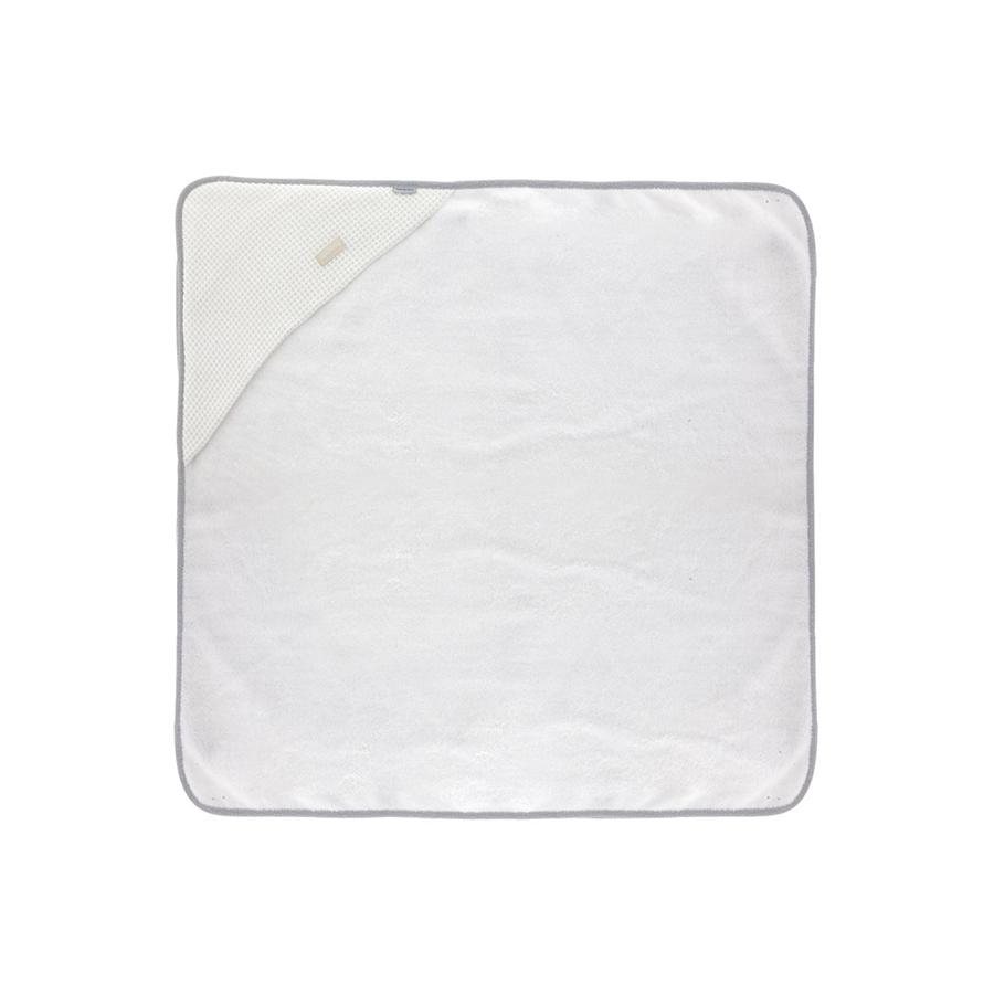 Serviette de bain a capuche 100×100 cm sky gris