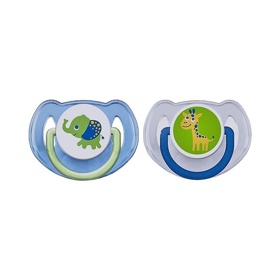 Sucettes décorées orthodontique 6-18 mois