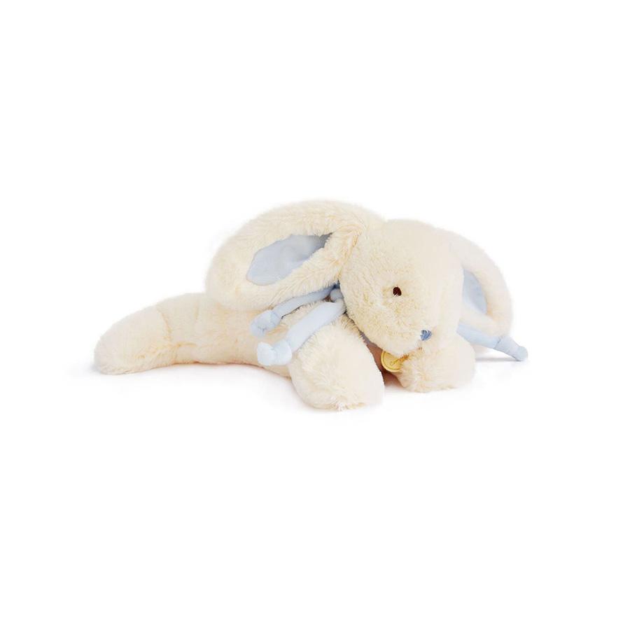Lapin bonbon – Doudou 30 cm – bleu