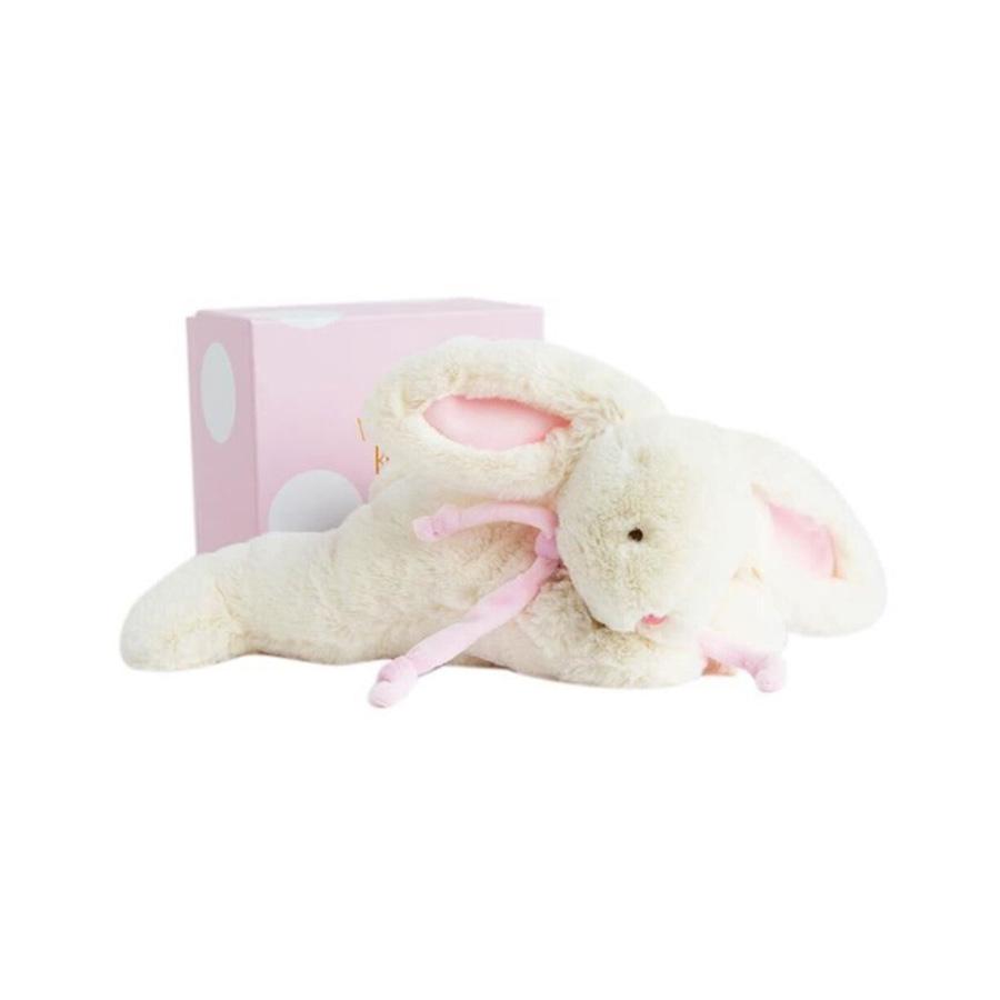 Lapin bonbon – Doudou – rose 30 cm