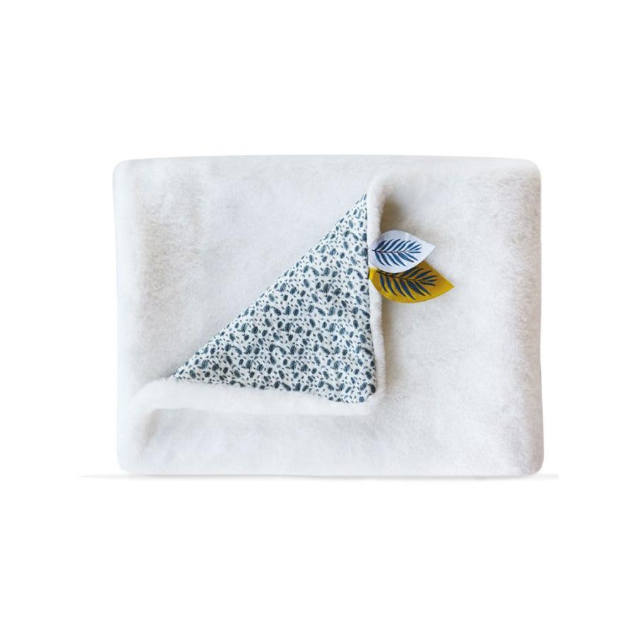 Plaid Douceur YOKA LE KOALA, Blanc 70×100 cm