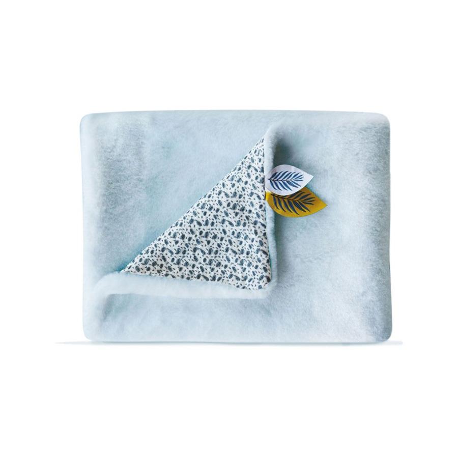 Plaid Douceur YOKA LE KOALA, Bleu 70×100 cm
