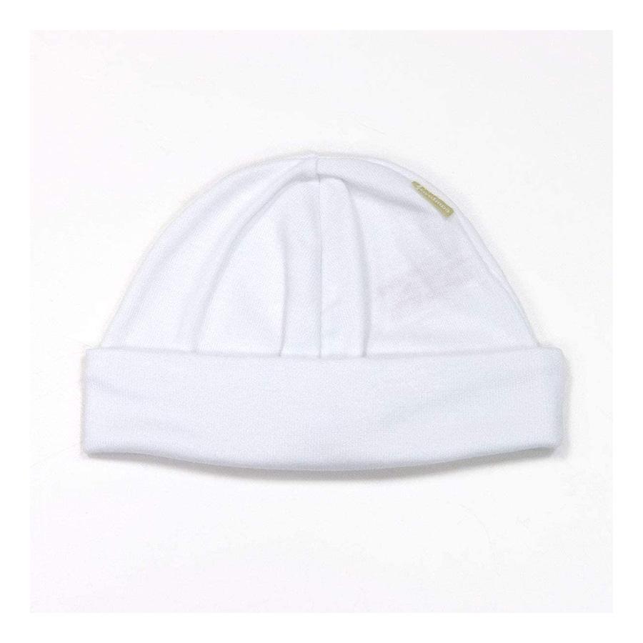 Bonnet Tricot Liso Blanc