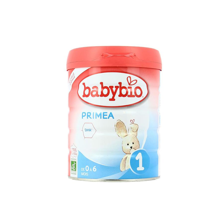 Babybio – Lait en poudre Primea 1 – 800G – (0-6)mois -BIO