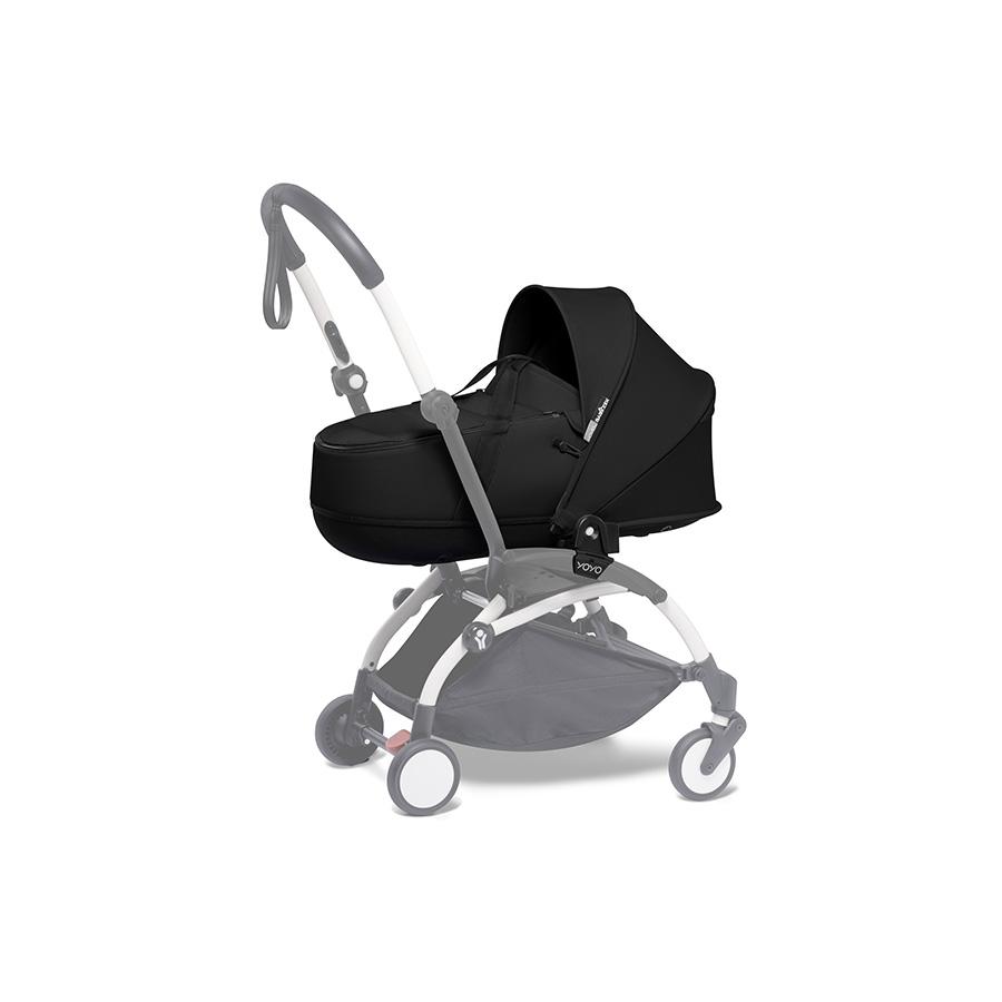 Yoyo 0+ bassinet – black /nacelle