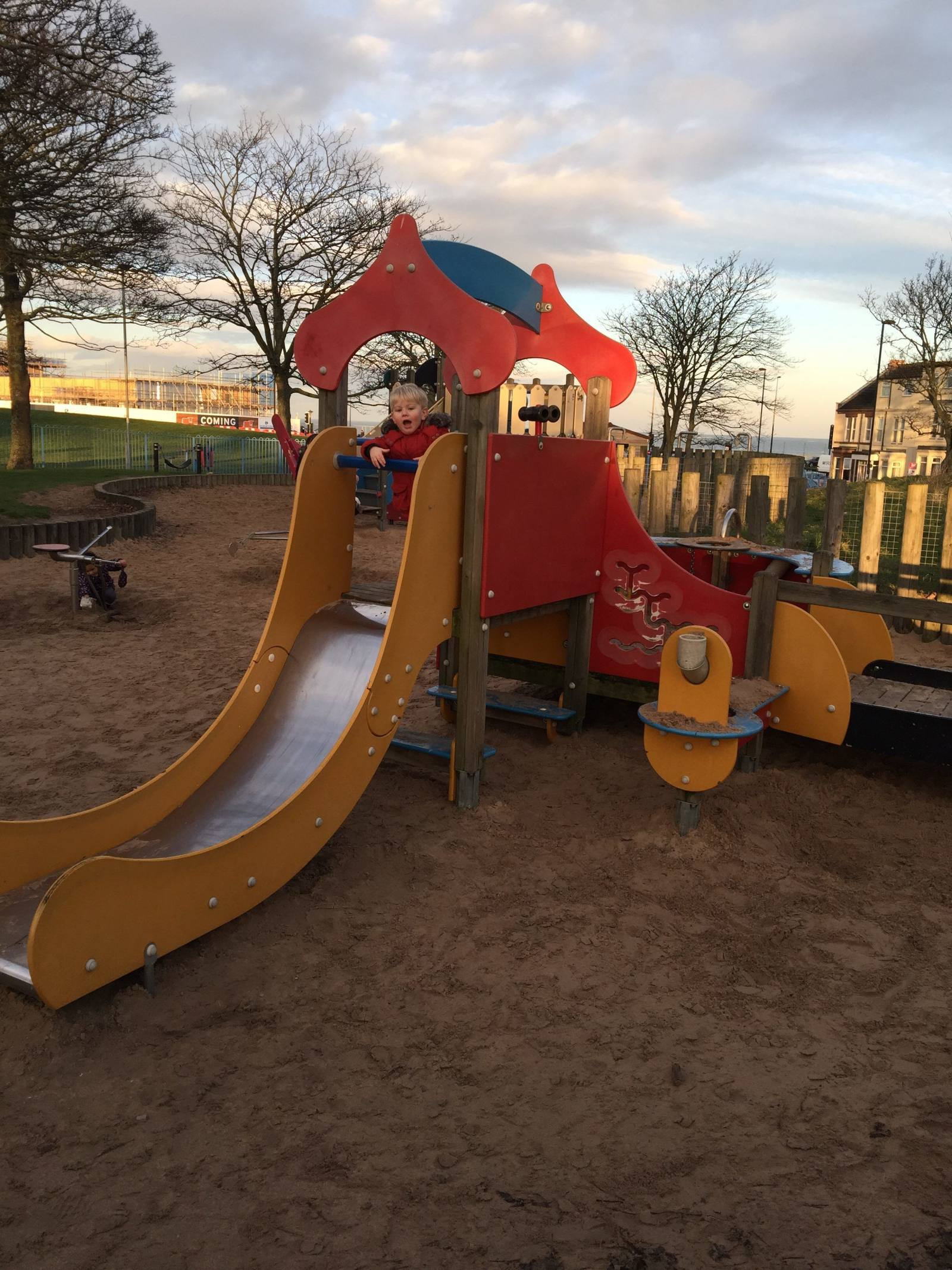 Toddlers love the park