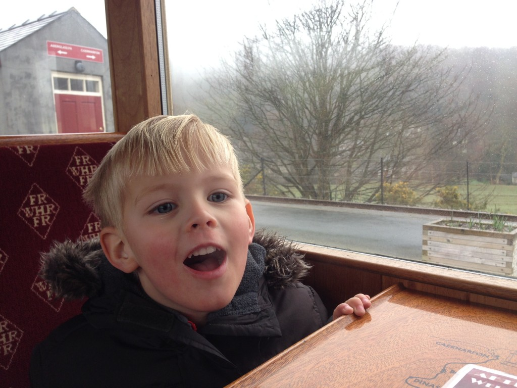playing dragons on the train - welsh highland railway #findyourepic wales adventure