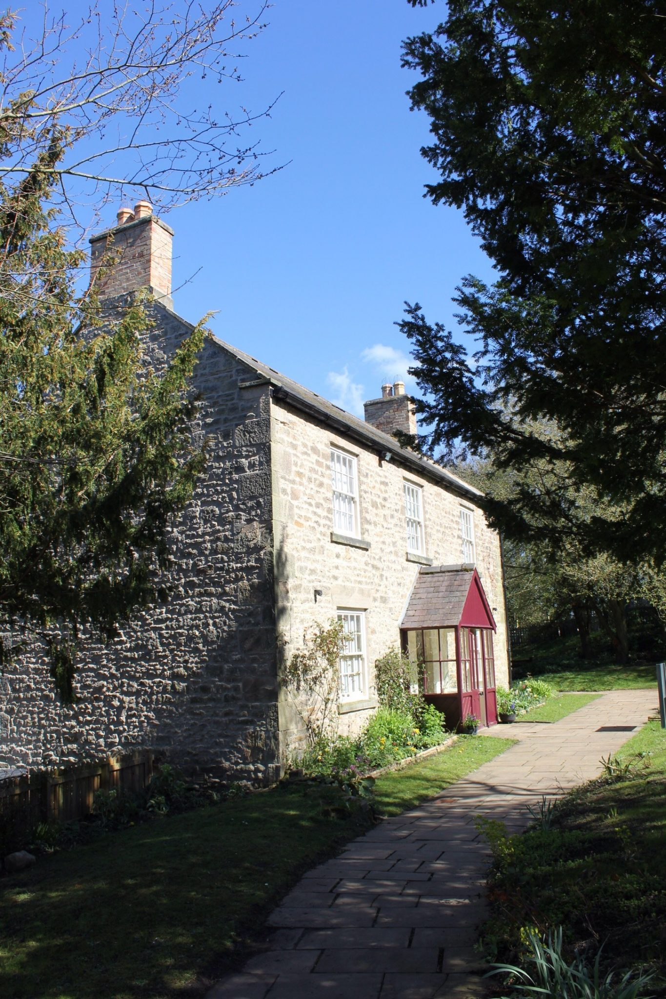 thomas beeick cottage cherryburn now a national trust property in mickley northumberland