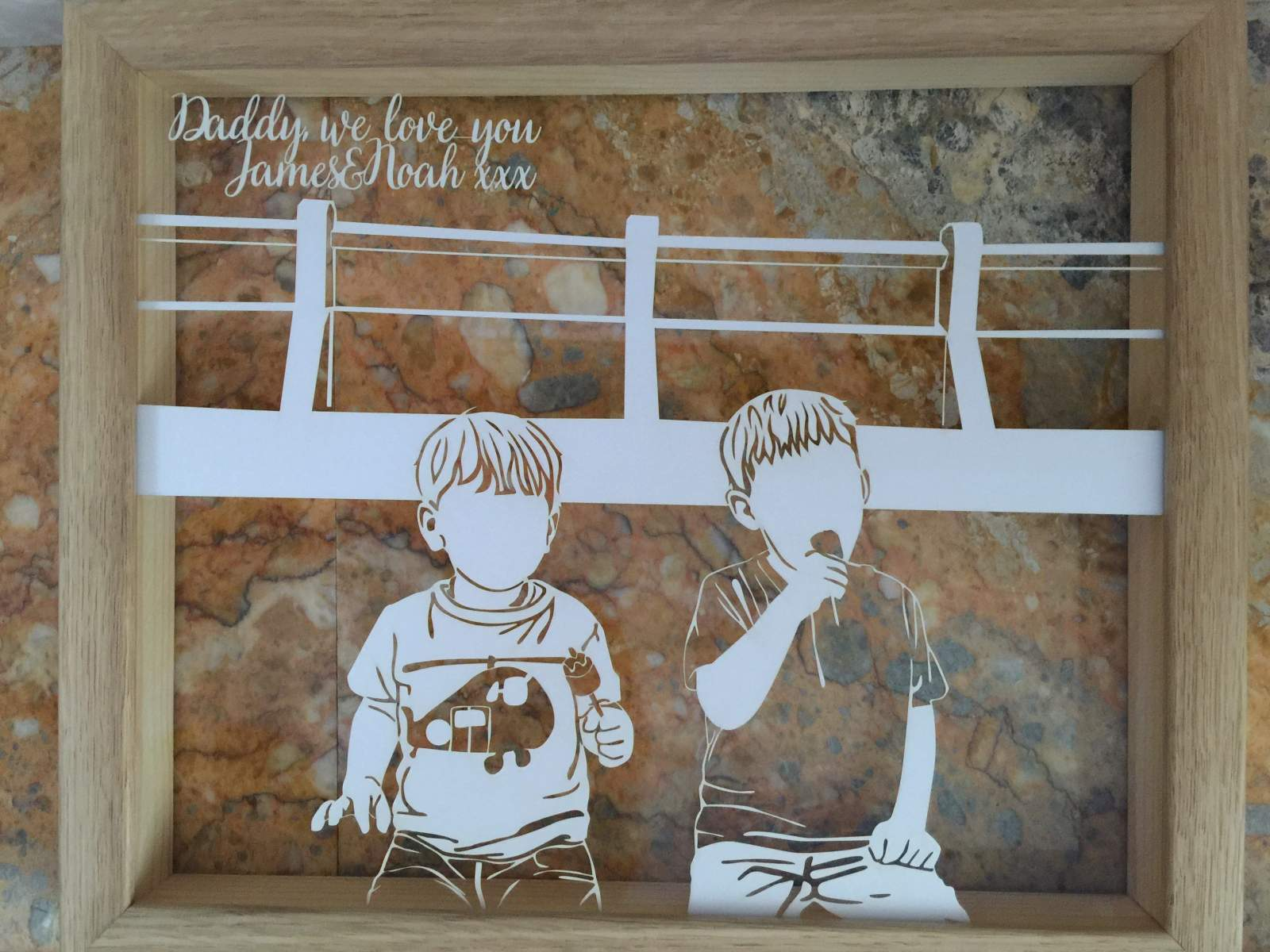 twenty fingers papercut father's day review
