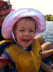 First paddle-boating experience