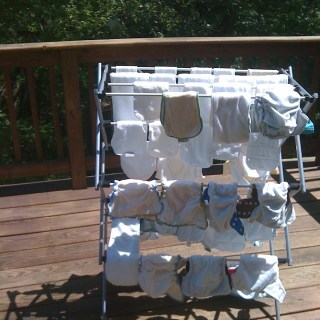 Cloth Diapering: what works for us