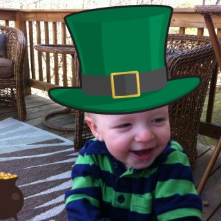 St. Patrick's Day: then & now