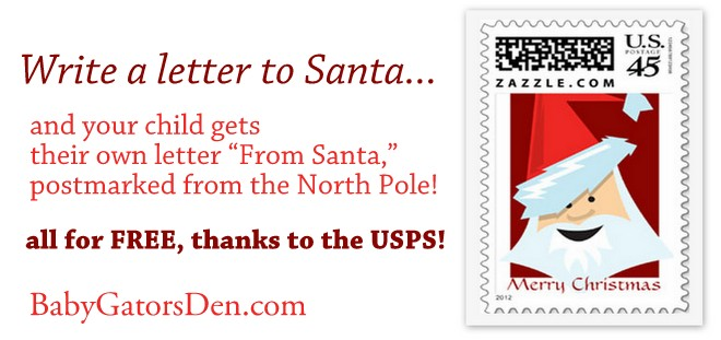 Santa Writes Back! (FREE from the USPS)