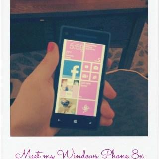 Meet my Windows Phone 8X by #HTC8 #troop8x