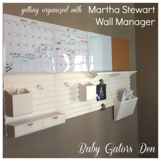 "Get Organized with Martha Stewart's ""Wall Manager"" Available at Staples"