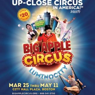 Big Apple Circus in Boston {Giveaway}