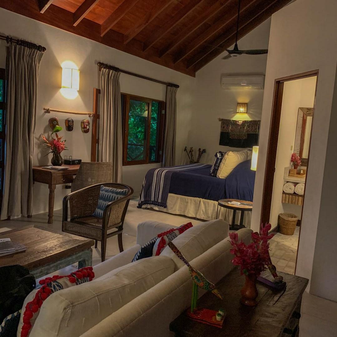 La Lancha review Rainforest Junior Suite interior
