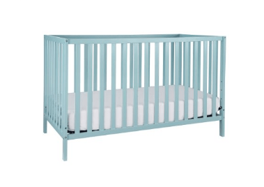 Union 2-in-1 Convertible Crib, Lagoon Finish
