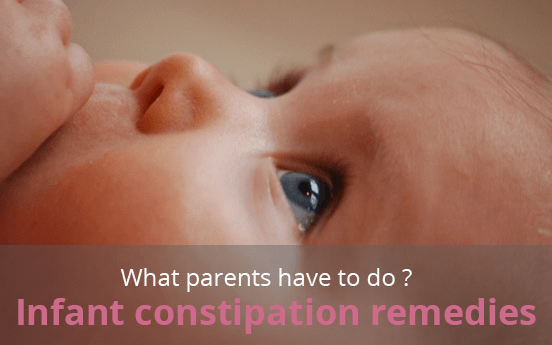 Infant Constipation Remedies, What Parents Have to Do?