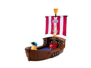 Pirate ship toddler bed all