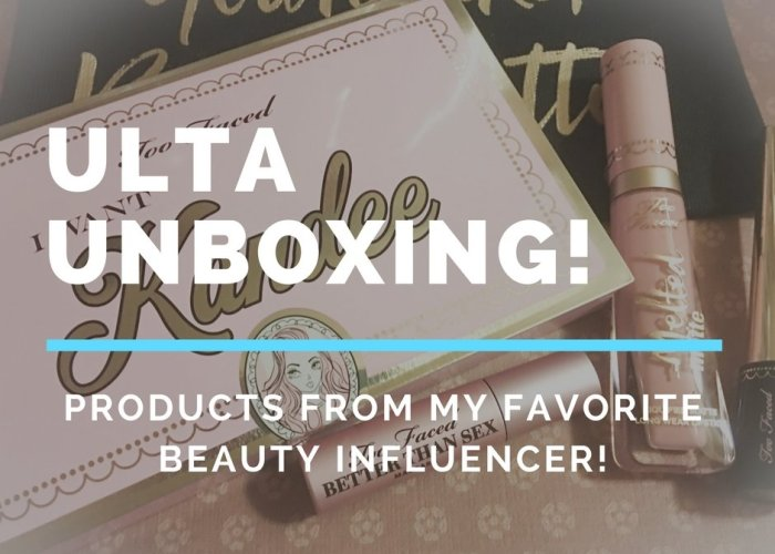 New Video on My YouTube Channel: ULTA Unboxing!