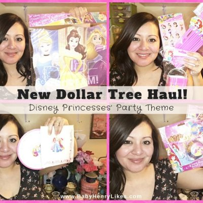 New Dollar Tree Haul! Disney Princesses' Party Theme!
