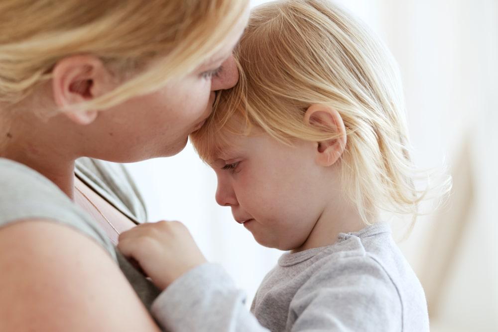 Lidar com o medo da criança