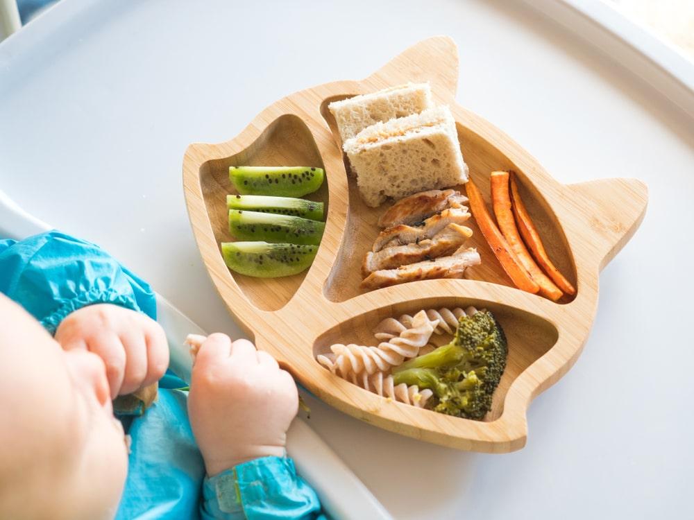 Como variar a alimentação do bebê